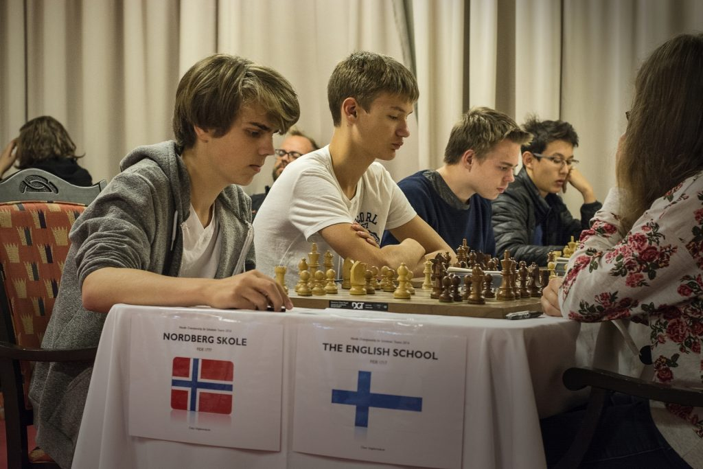 Nordberg, Ungdomsskole runde 4