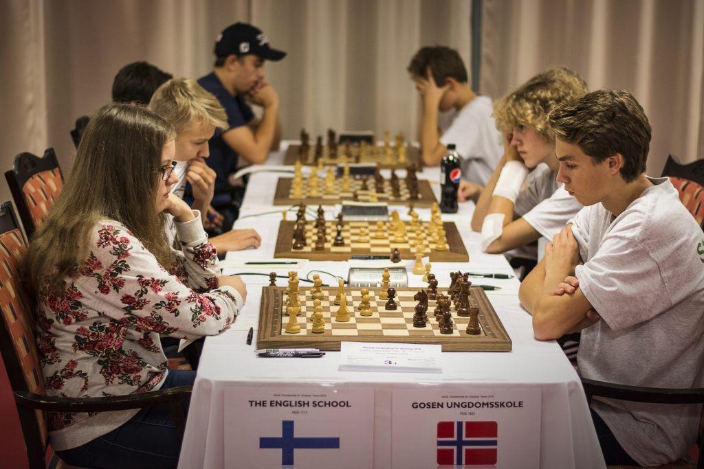 FIN vs NOR, ungdomsskole runde 5