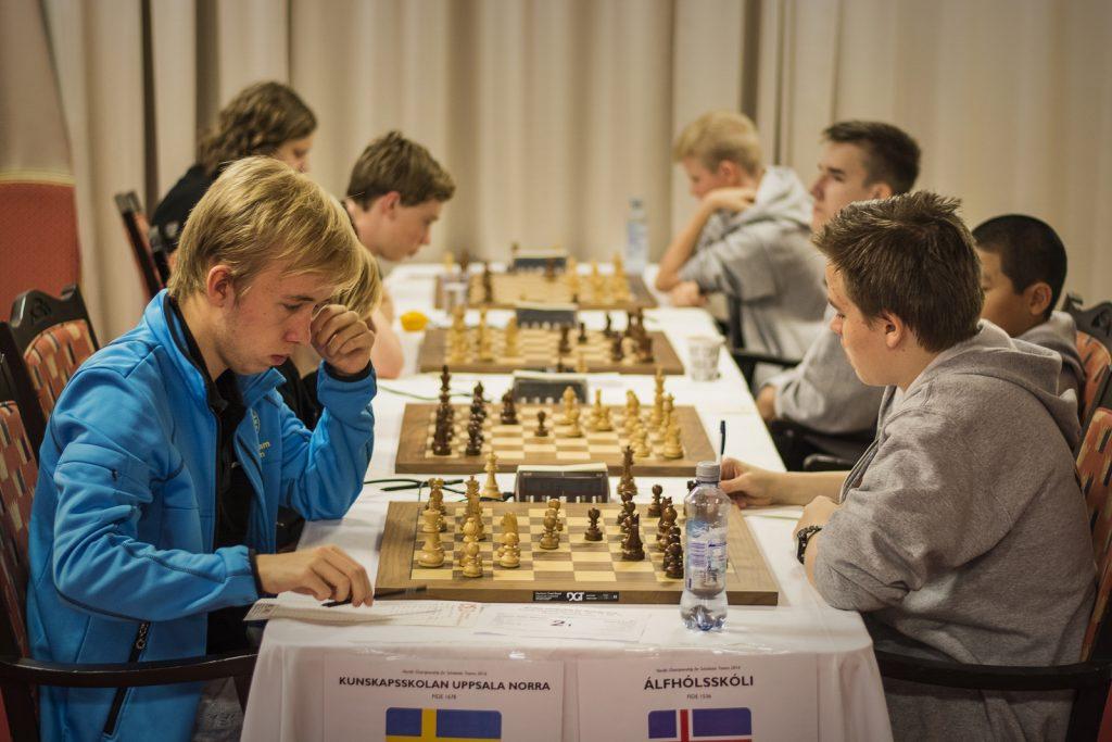 SWE vs ISL, Ungdomsskole runde 5